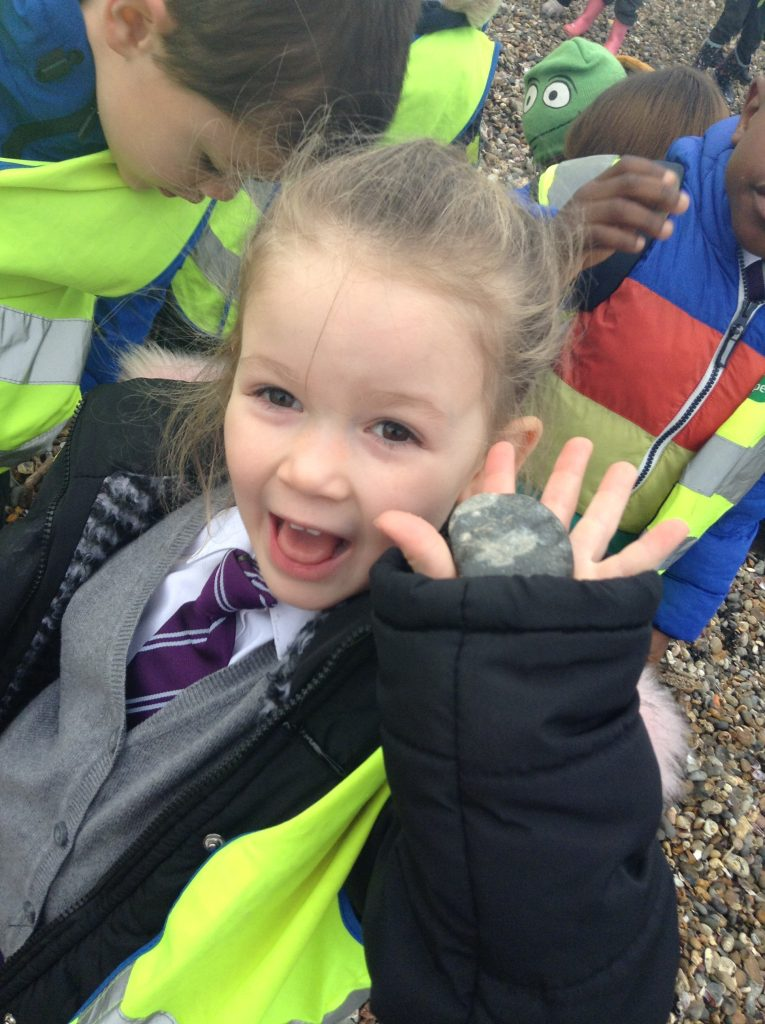 EYFS at Thistle Hill Academy at the beach