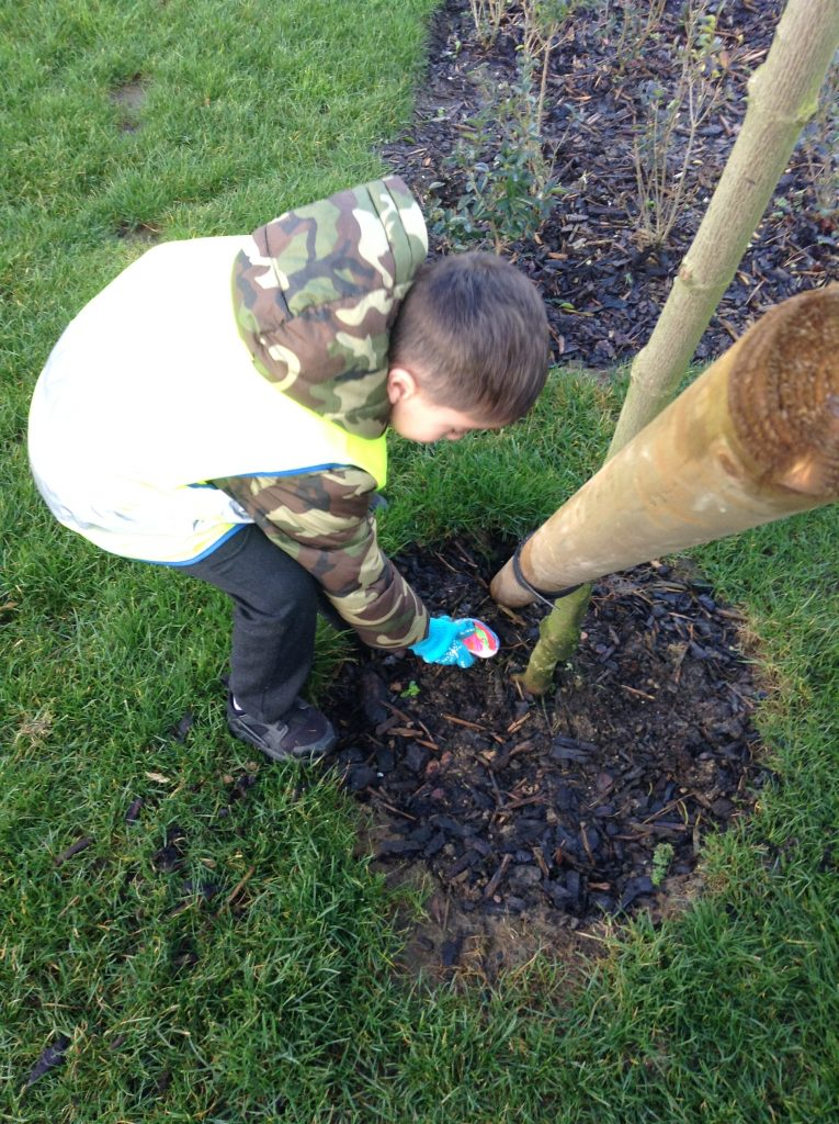 EYFS at Thistle Hill Academy learning outdoors