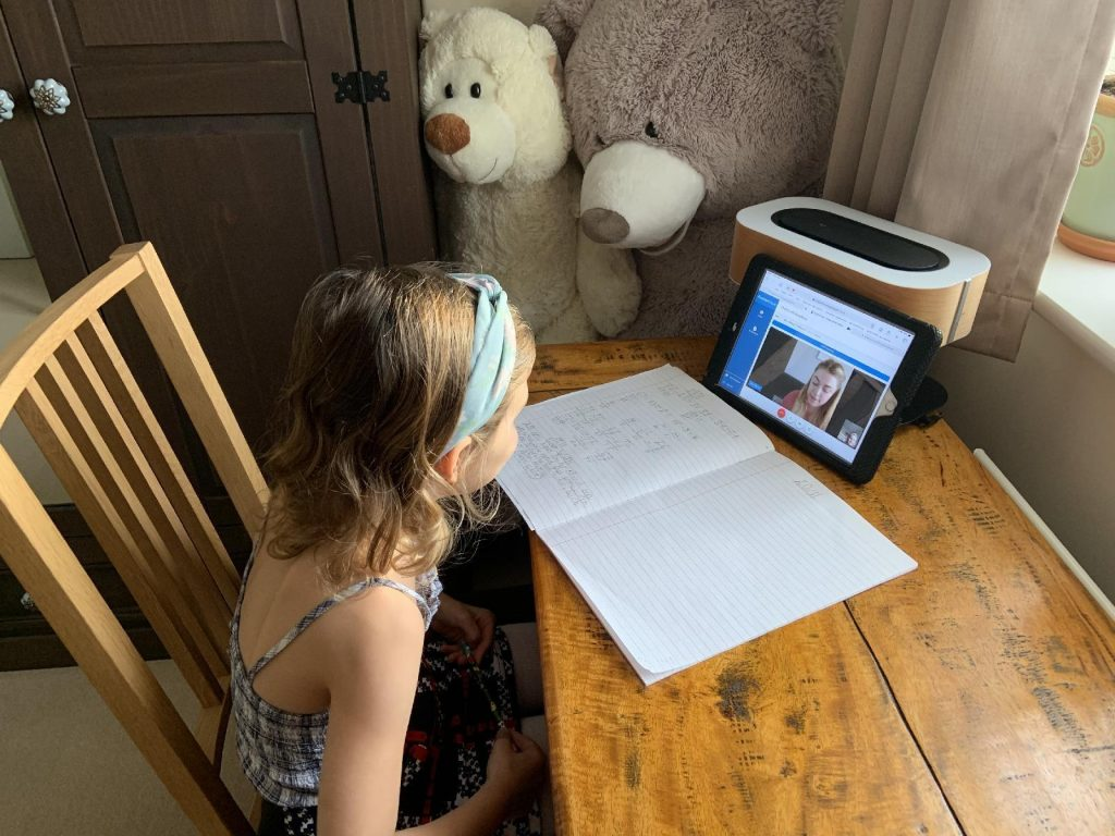 Remote Learning at Thistle Hill Academy